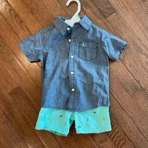 Carter's Baby Boy Short Set